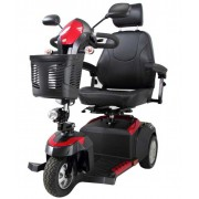 Ventura DLX Deluxe 3-Wheel Bariatric Scooter with Captain Seat 400 lbs by Drive - Ventura318CS
