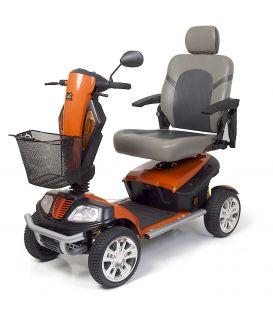 Golden Patriot 400lb Capacity  - 4 Wheel Scooter - Orange