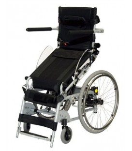 "Karman 18"" Manual Push-Power Assist Stand Wheelchair"