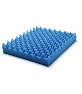 """Wheelchair Pad Convoluted Foam Cushion Size: 18"""" x 16"""" x 2"""""""