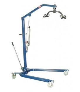 Lumex Patient Hydraulic Lift Blue