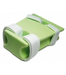 Patient Positioners - Abduction Pillow with Adjustable Straps Medium - 16in x 6in x 22in
