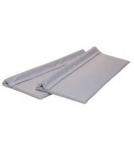 Cushion Ease Side Rail Pads 14in x 36in - Fits Half Rail for Standard Rail Only