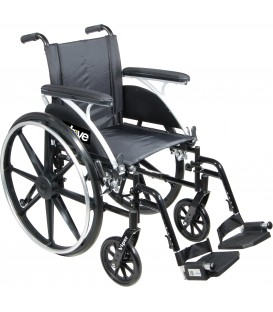 Drive Viper Deluxe Lightweight Dual-Axle Wheelchair