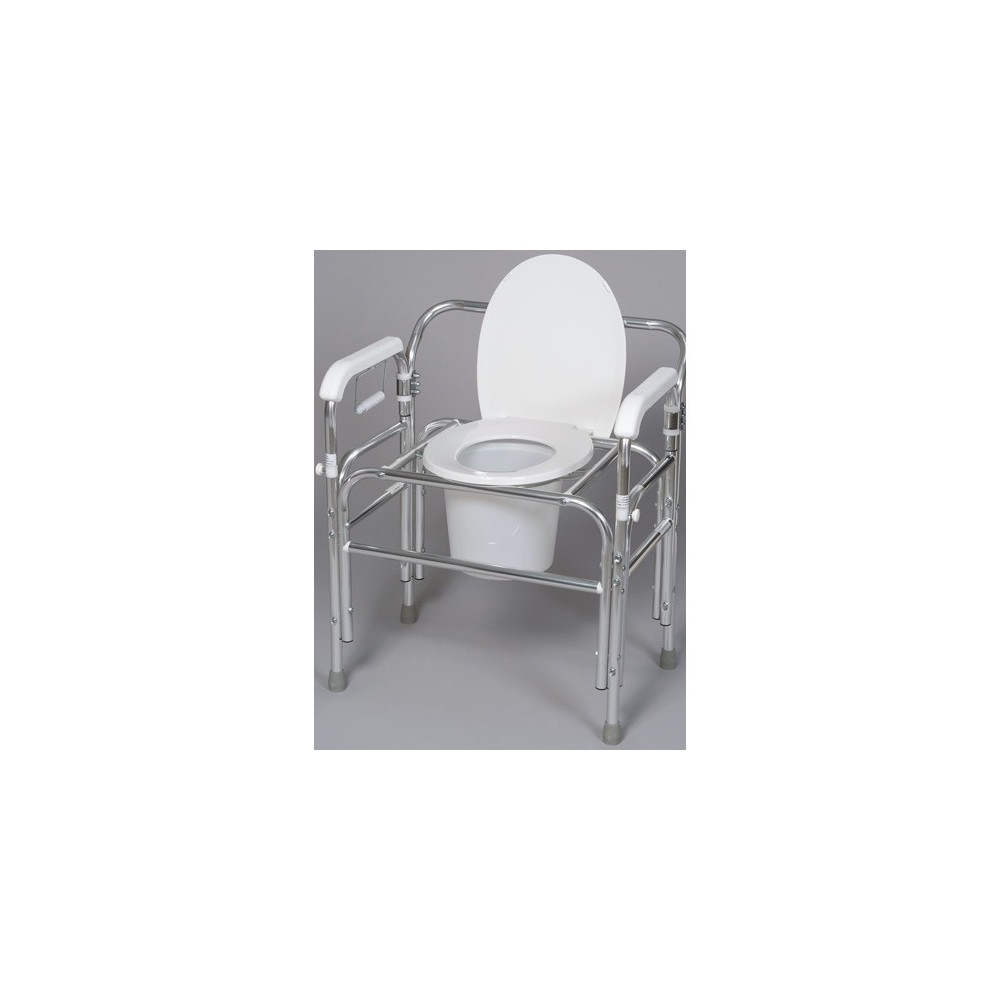 Gendron 5135 Bariatric Bedside Commode With Dual Swing Arms