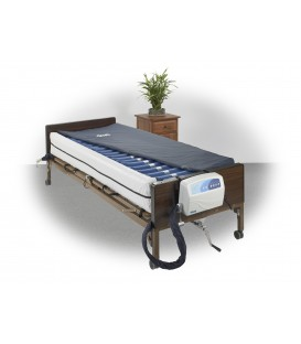 """Med-Aire Plus 8"""" Altern Press & Low Air Loss Mattress Syst & Perimeter by Drive"""