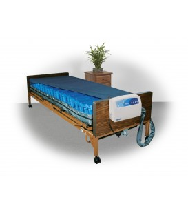 """Med-Aire Plus 8"""" Alternating Pressure & Low Air Loss Mattress System by Drive"""
