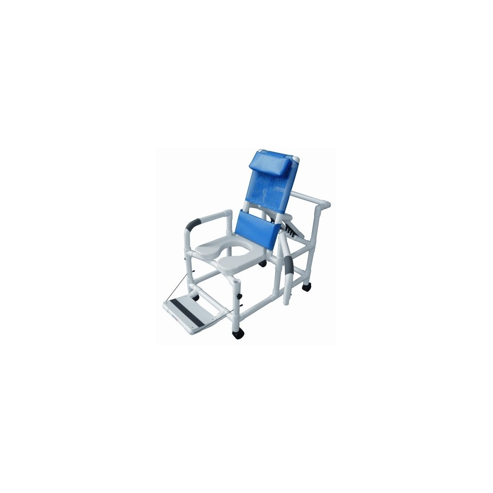 Lumex 20 Quot Pvc Recline Shower Commode Chair Swing Arms