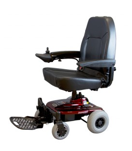Shoprider Jimmie with Captain Seat Portable Power Chair - UL8WPBS
