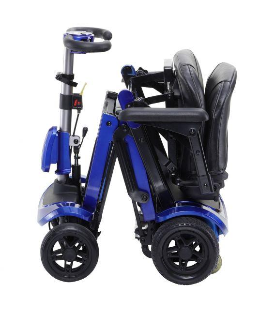 Zoome Flex Folding Travel 4 Wheel Scooter