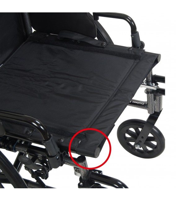 Viper Plus Reclining Wheelchair With Elevating Leg Rests