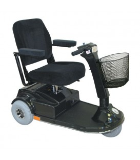 PaceSaver Espree Atlas 5 3-Wheel Bariatric Scooter (500 lbs)- 15086
