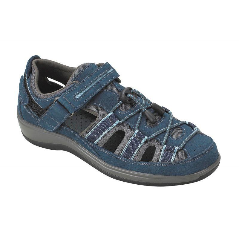 Orthofeet Women S Naples Diabetic Shoes Blue American