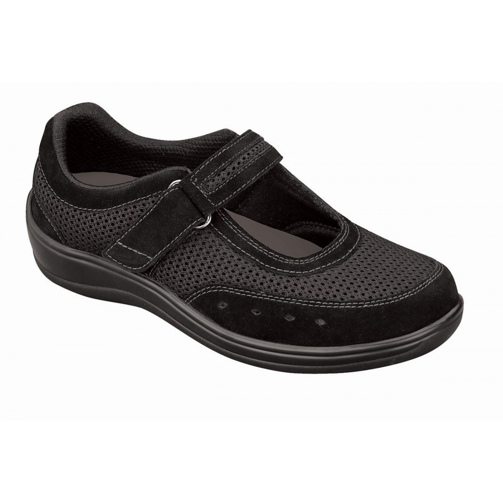 Orthofeet Women S Chattanooga Diabetic Shoes Black
