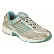 OrthoFeet Women's Verve Diabetic Shoes - Turquoise