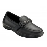 OrthoFeet Women's Chelsea Diabetic Shoes - Black
