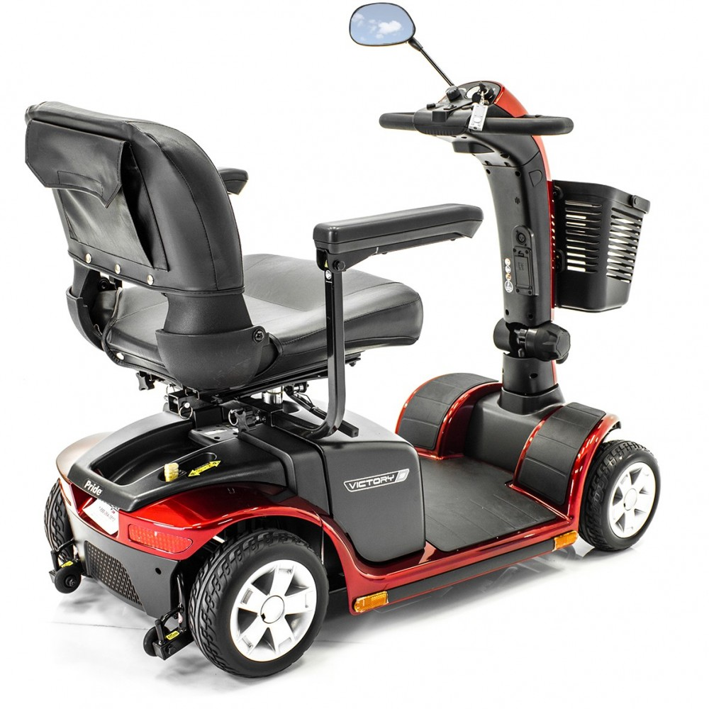 Pride Victory 9 Mid Size 4 Wheel Scooter