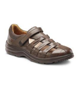 Dr. Comfort Women's Breeze Diabetic Shoes - Coffee