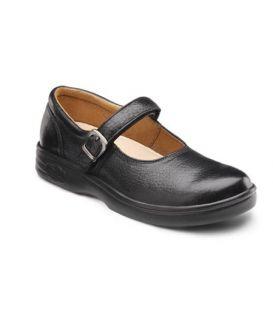 Dr. Comfort Women's Merry Jane Diabetic Shoes - Black