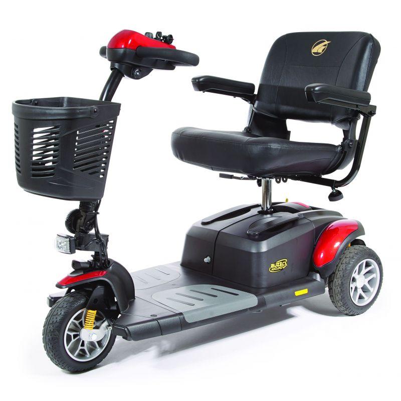 Golden Buzzaround Extreme 3 Wheel Travel Scooter Gb118d