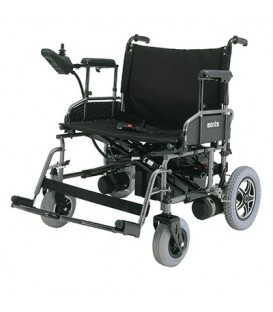 Merits P182 Travel-Ease Folding Bariatric Power Chair - 600 lbs
