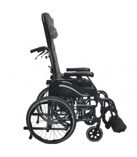 Karman VIP-515-TP Lightest Foldable Adult Tilt-in-Space Wheelchair