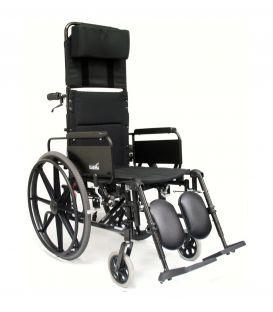 Karman KM-5000F Ultralight Manual Aluminum Reclining Wheelchair 36 lbs
