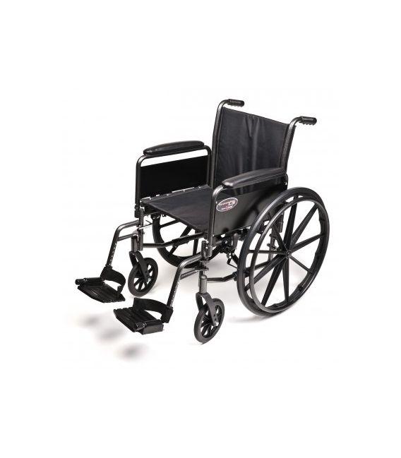 "3F030140 - 18"" x 18"", Flip Back Full Arm, Swingaway Footrest"