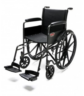 Fixed Full Arm, Swingaway Footrest