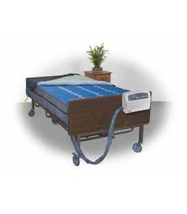 """Med-Aire Plus 10"""" Bariatric Altern Pressure Mattress System by Drive"""