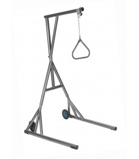 Free Standing Heavy Duty Bariatric Trapeze -Silver Vein