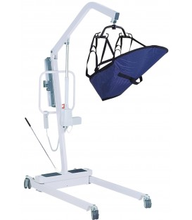 Elec Patient Lift with Rechargable Battery  6 Pt Cradle -Drive