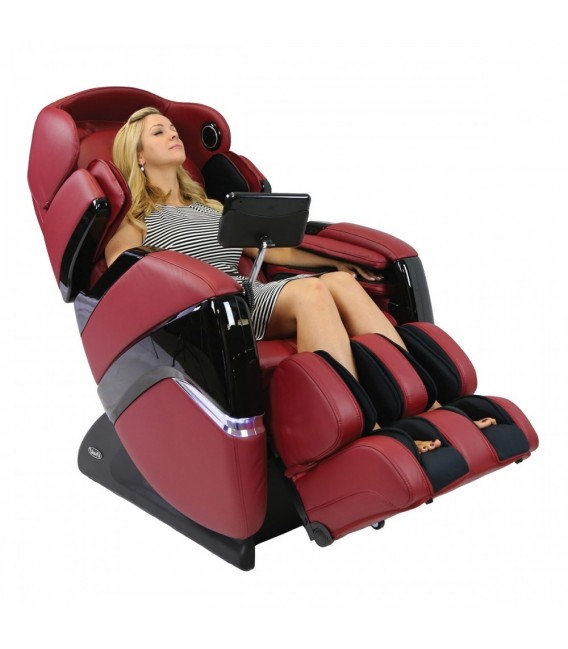 Osaki OS-3D Pro Cyber Massage Chair - Red