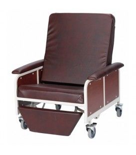 Gendron 7150 Bariatric Patient Room Recliner - 4 Colors