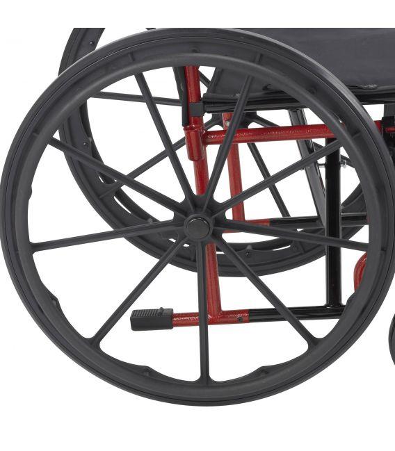 "Drive Rebel 18"" Wheelchair Detach Deskarms & Swingaway Footrests"