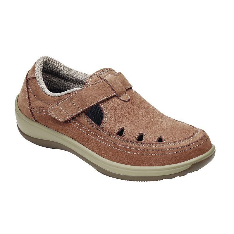 Orthofeet Women S Serene Diabetic Shoes Tan 896