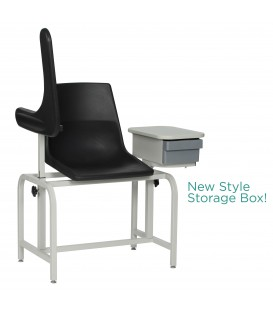 Basic Blood-Drawing Chair with Cabinet 2570 - Winco