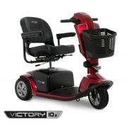 Victory 10.2 3-Wheel Mid-Size Bariatric Scooter - SC6102