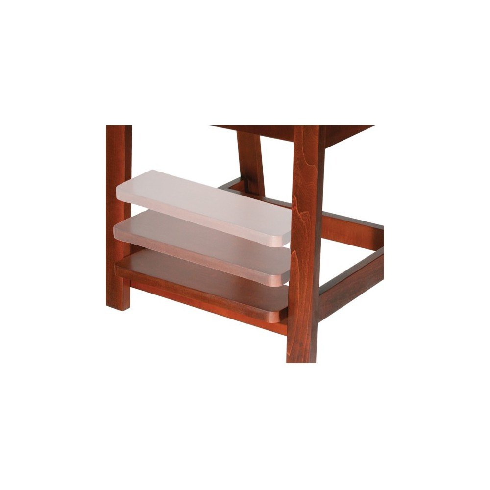 Wood High Hip Chair American Quality Health Products