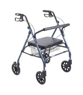 Drive Go-Lite Bariatric Steel 4 Wheel Rollator