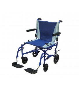 TranSport Aluminum Transport Chair TS19 by Drive