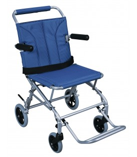 Drive Super Light Folding Transport Chair with Carry Bag & Flip-Back Arms