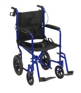 Drive Lightweight Expedition Aluminum Transport Wheelchair
