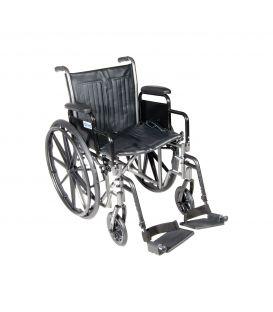 """Drive Silver Sport 2 Manual 16"""" Wheelchair"""