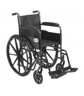 """Drive Silver Sport 2 Manual 18"""" Wheelchair"""