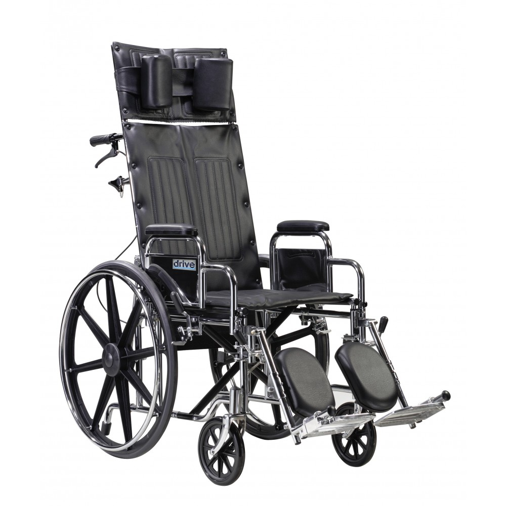 Drive Deluxe Sentra Full Reclining 22 Quot Wheelchair