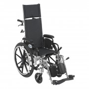 Drive Pediatric Viper Plus Reclining Wheelchair with Flip Back Detachable Arms & Elevating Leg Rests
