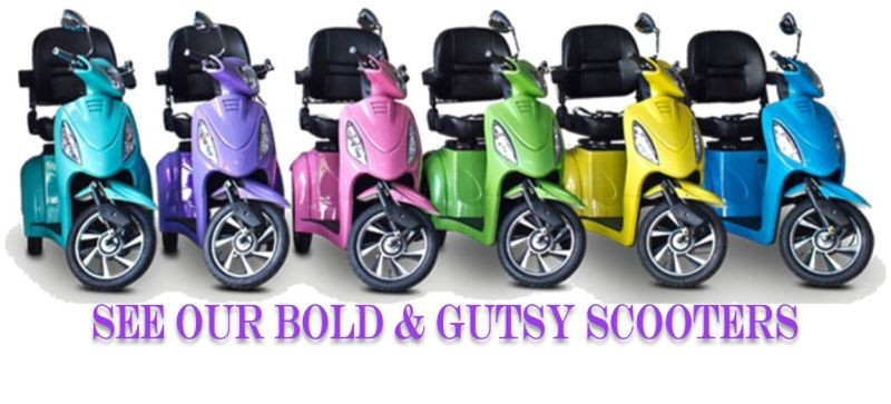 Bold & Gutsy Scooters